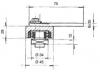 verstellbares torband mit kugellager bis 500 kg smolka tor und antriebstechnik berlin online shop. Black Bedroom Furniture Sets. Home Design Ideas