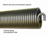 Torsion spring replaces Hörmann L700 and L19 - in stock