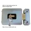 VIRO V9083 12 V electronic lock to lock pillars - without profile half cylinder