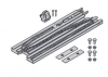 Hörmann / Berner operator Drive rail, guide rail  FS3-M for EcoStar - EcoStar Plus, EcoStar Plus (Typ C) - Liftronic 700/800 - for shipping outside Germany please ask for shipping costs!
